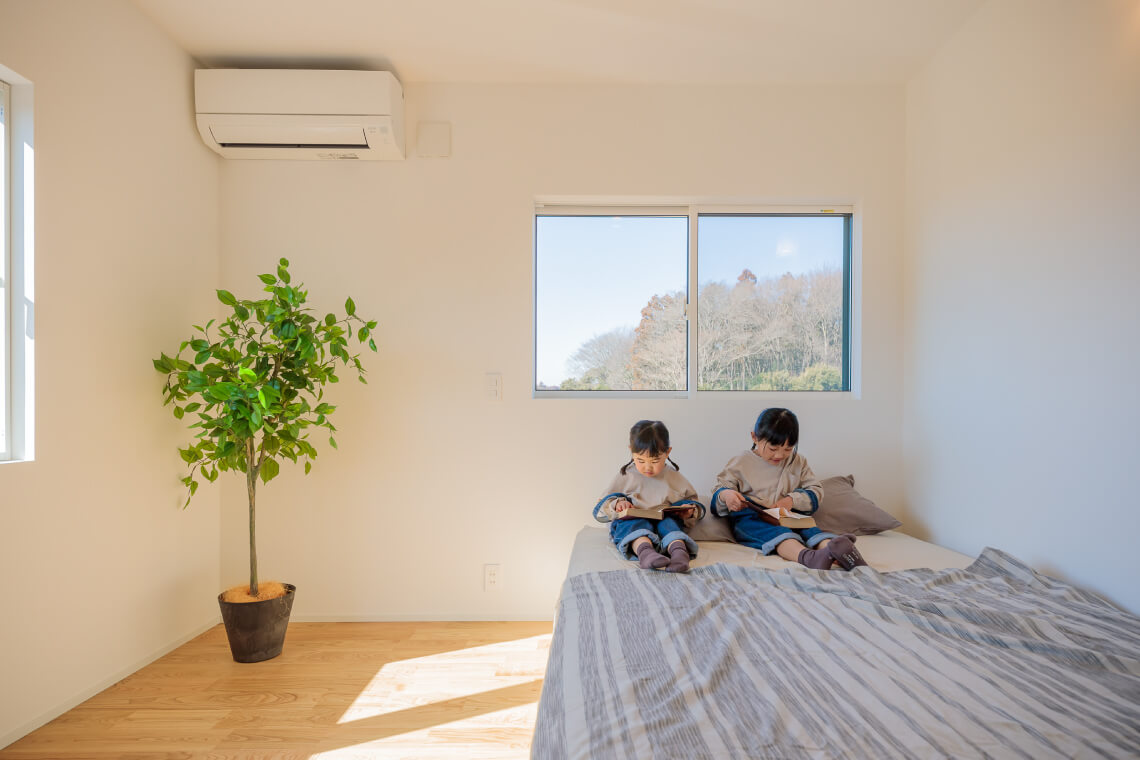 百家の平屋 寝室 特集 株式会社Kibaco