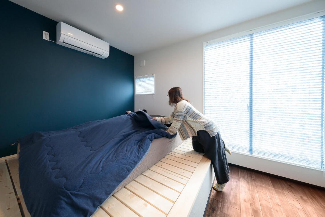 鎌庭の家 寝室 特集 株式会社Kibaco
