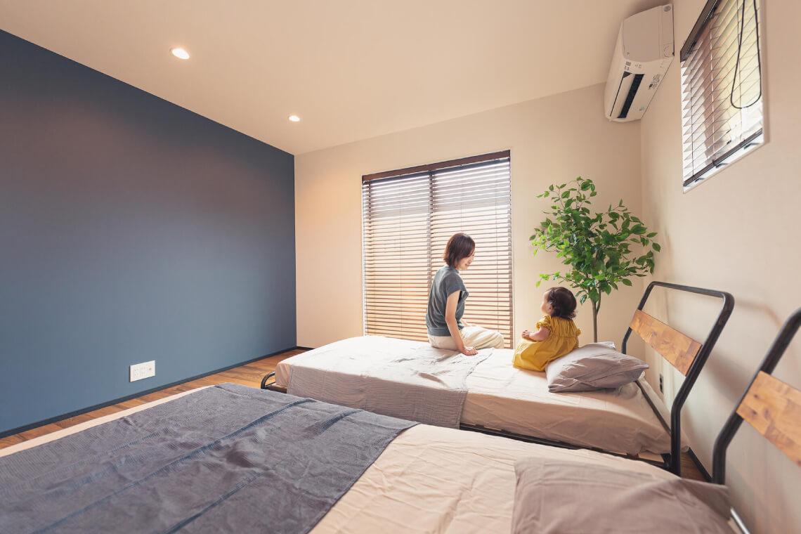 香取台の家 寝室 特集 株式会社Kibaco