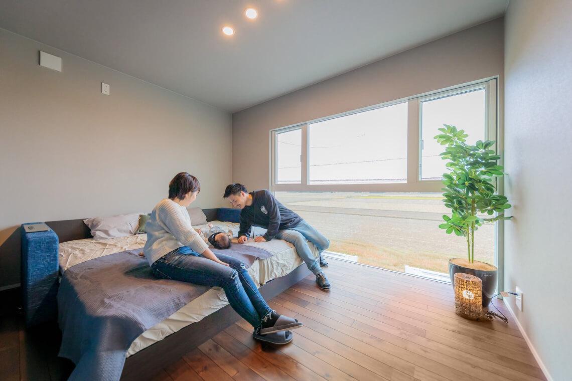 桜が丘の家 寝室 特集 株式会社Kibaco