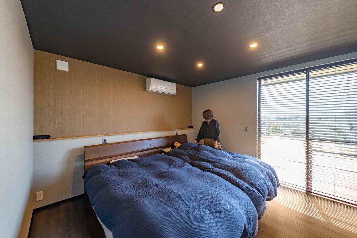 沢目の家 寝室 特集 株式会社Kibaco