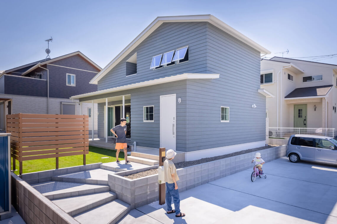 CALIFORNIA HOUSE|外観|特集|株式会社Kibaco