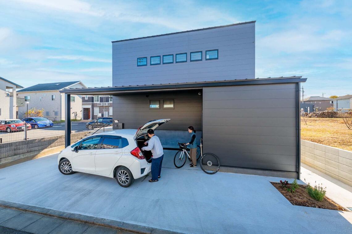 Maison de vélo|外観|特集|株式会社Kibaco
