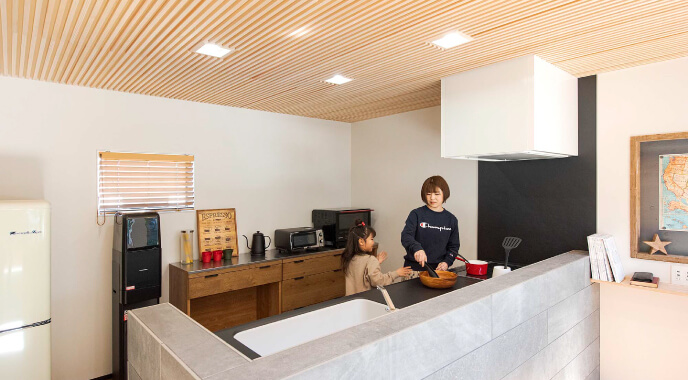 Kitchen FEATURE 株式会社Kibaco