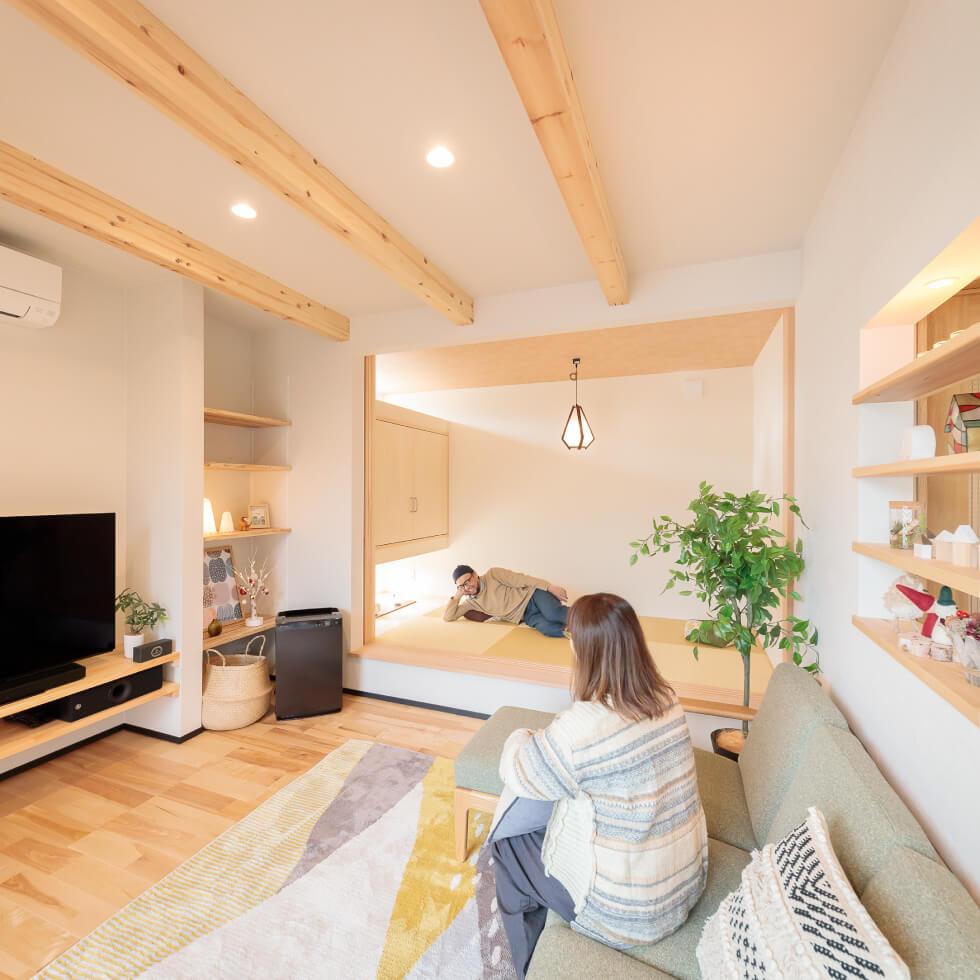 鎌庭の家|施工事例|株式会社Kibaco