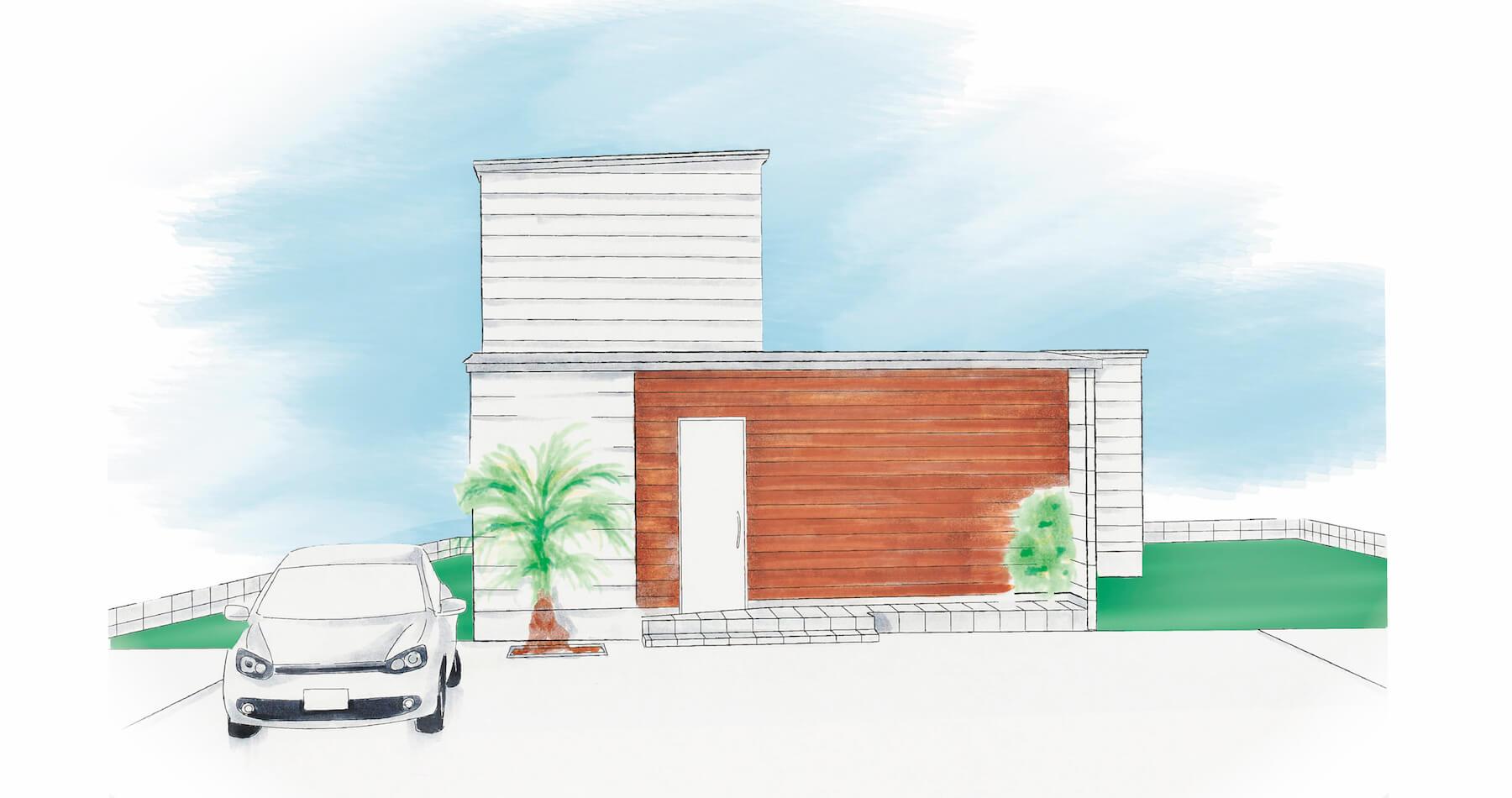 中庭のある家|株式会社Kibaco