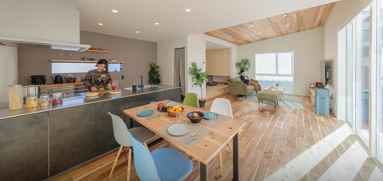 中庭のある家 施工事例 株式会社Kibaco