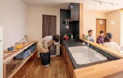 Kitchen|並木の家【完成見学会】|株式会社Kibaco