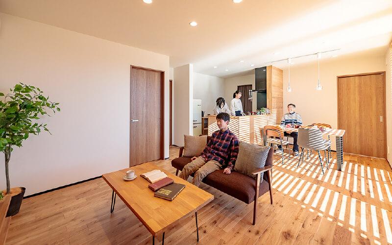 Living & Dining|並木の家【完成見学会】|株式会社Kibaco