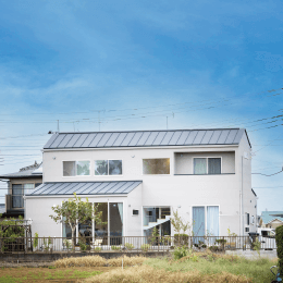 上長の二世帯住宅|施工事例|株式会社Kibaco