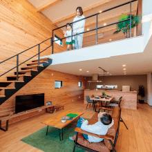 モンターニュ|つくば市の新築木の家|株式会社Kibaco