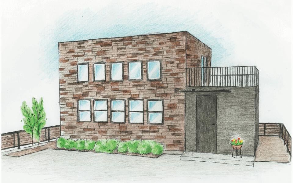 ヴィンデージオフィス つくば市の新築木の家 株式会社Kibaco