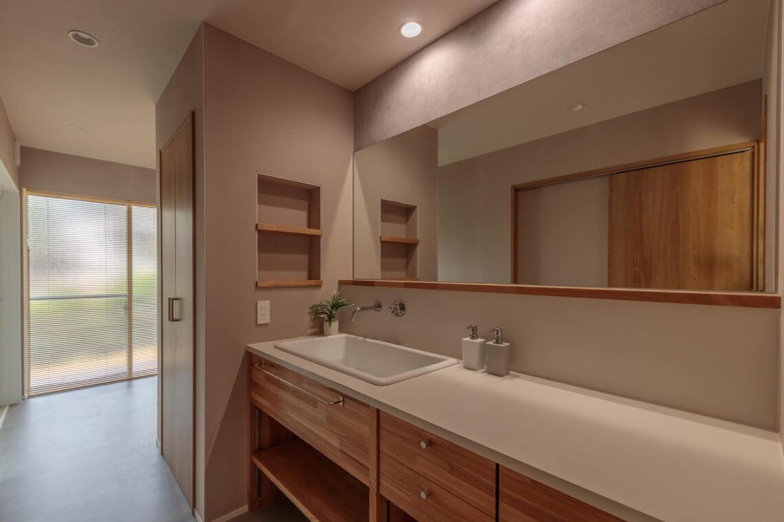 和(なごみ)の家|洗面室|特集|株式会社Kibaco