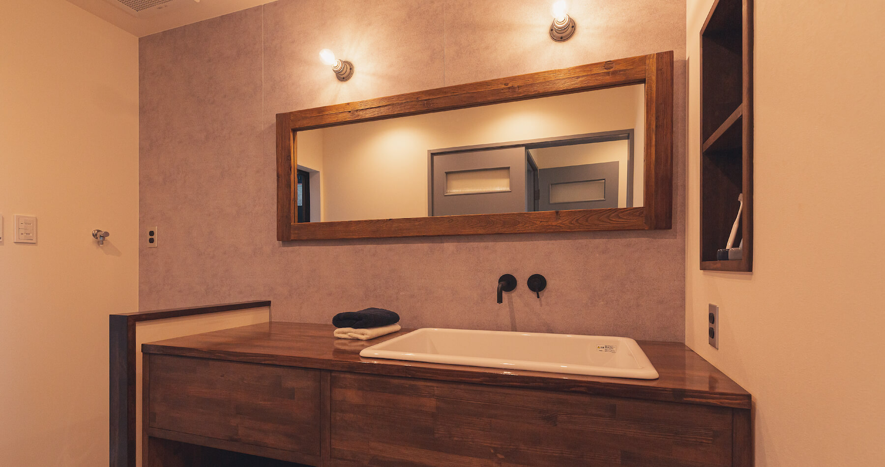 洗面室|株式会社Kibaco